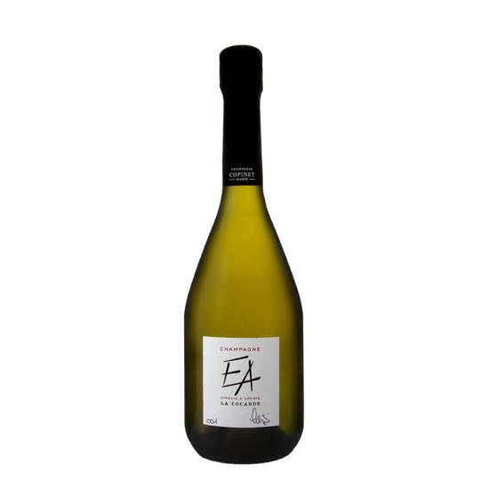 Champagne-Marie-Copinet-Epreuve-Artiste-La-Cocarde-blanc-de-blancs-parcellaire-serie-limitee-numerote-bouteille