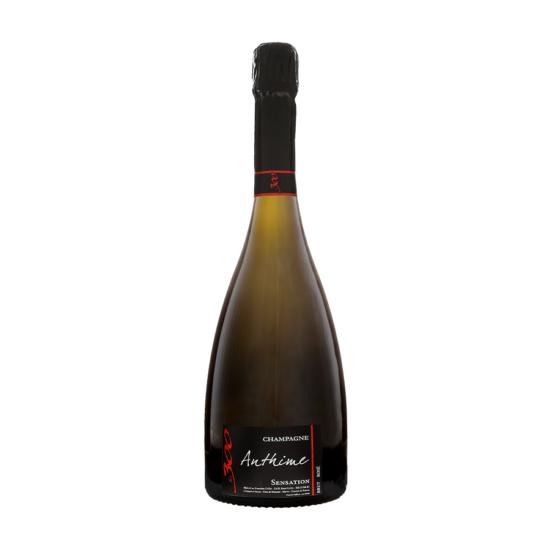 Champagne-Domaine-Collet-Anthime-champagne-Sensation-rose-de-saignee-vinification-fut-de-chene-bouteille