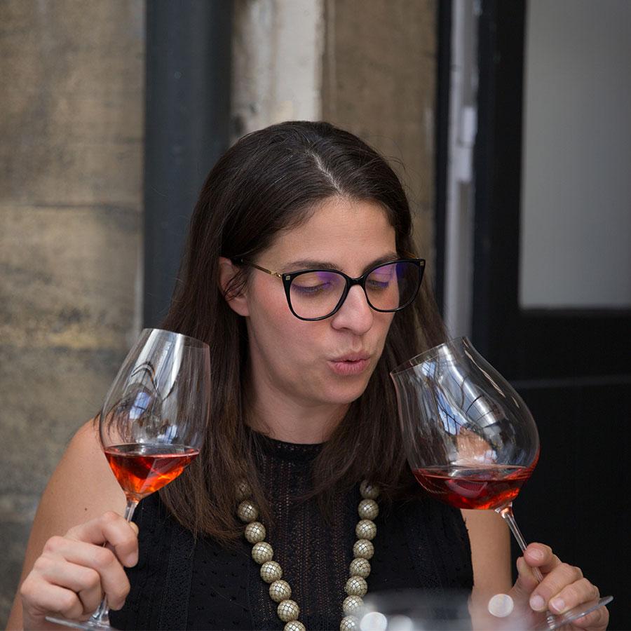Nathalie-Davoudian-Degustation-comparative-verres-Riedel-Champagne-de-Vigneron-Haut-de-gamme