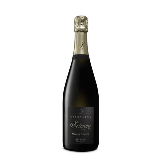 Champagne-Solemme-Ambre-Blanc-de-Noirs-bio-brut-nature-Pinot-Meunier-bouteille